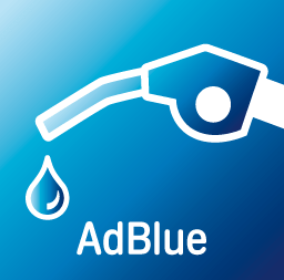 Logo AdBlue - Additif carburant diesel anti particule fine